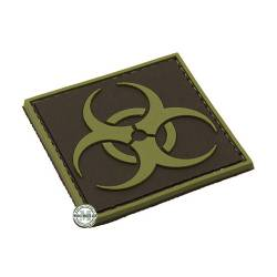 Patch 3D PVC Bio Hazard BE-X