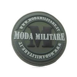 Patch 3D PVC ModaMilitare Od Green