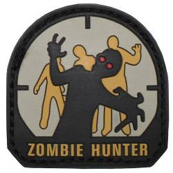 Patch Zombie Hunter Pvc 3D - MFH