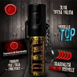 Spray Peperoncino DI.VA. Top Mimetico 15 ml