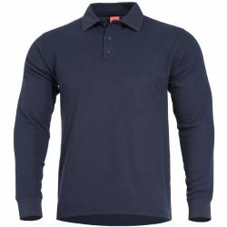 Polo a Manica Lunga Aniketos Navy Blue - Pentagon