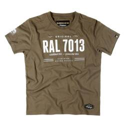 T-Shirt Vintage RAL 7013 - Claw Gear
