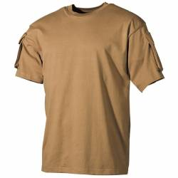 Combat T-Shirt US Tan - MFH