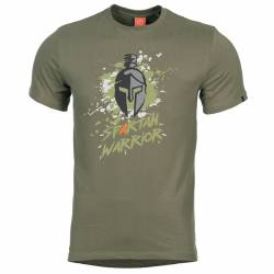 T-Shirt Ageron Spartan Warrior OD-Green - Pentagon