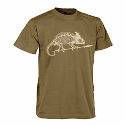 T-Shirt Chameleon Skeleton Tan - Helikon Tex