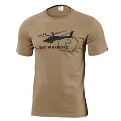 T-Shirt Helicopter Coyote Pentagon