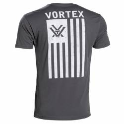 T-Shirt Tattica Grey Patriot - Vortex Optics